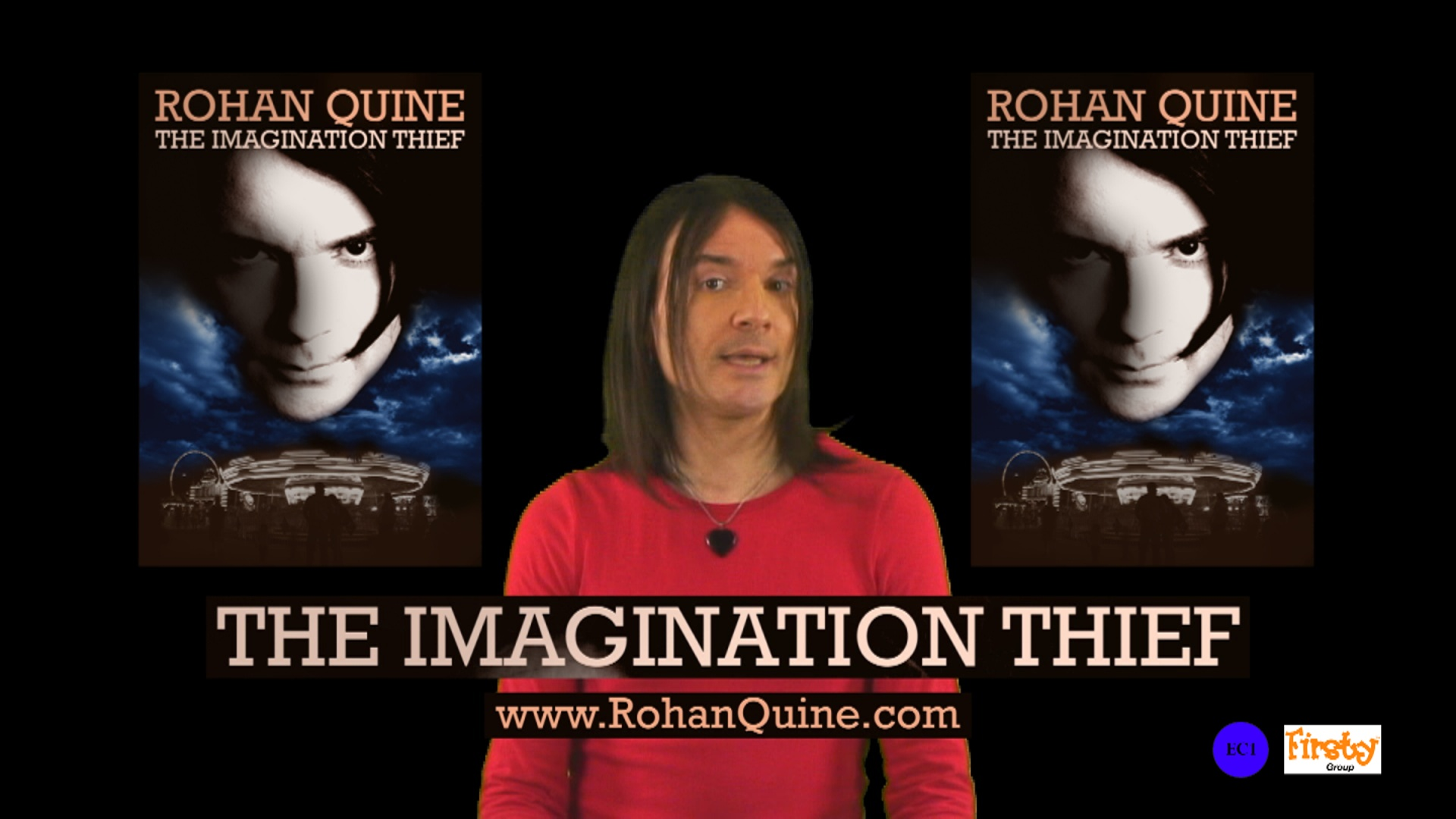 """Rohan Quine - """"Back-cover paragraph of The Imagination Thief"""" - still"""