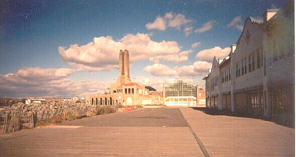 The Boardwalk, Asbury Park, looking south
