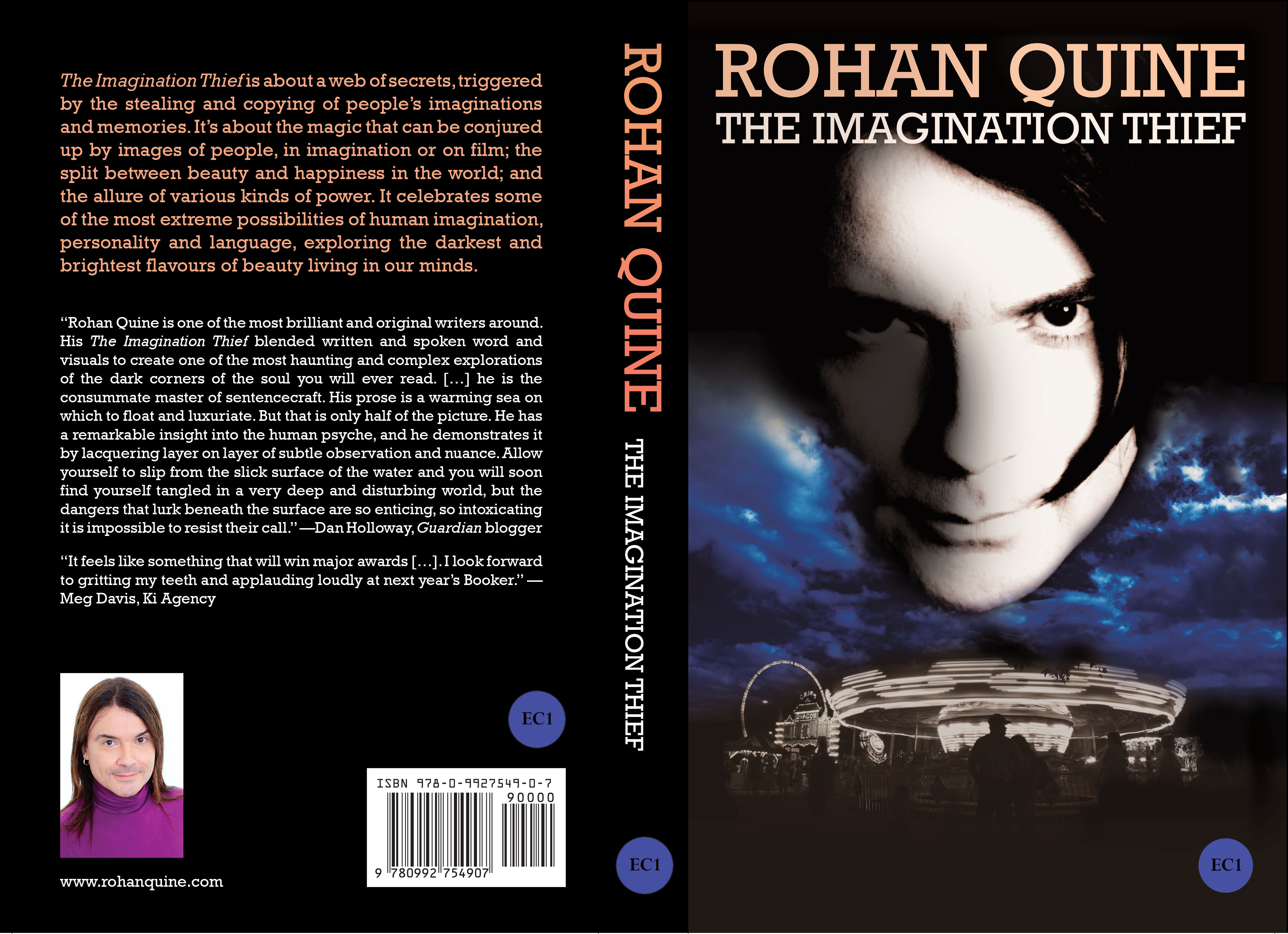 Rohan Quine - The Imagination Thief - paperback full cover