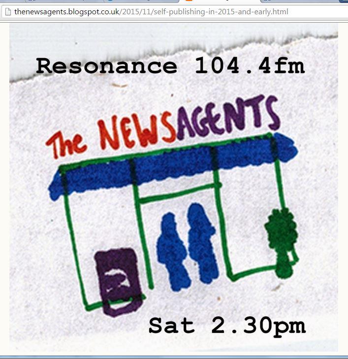 "Dan Holloway on Jude Cowan Montague's radio show ""The News Agents"""