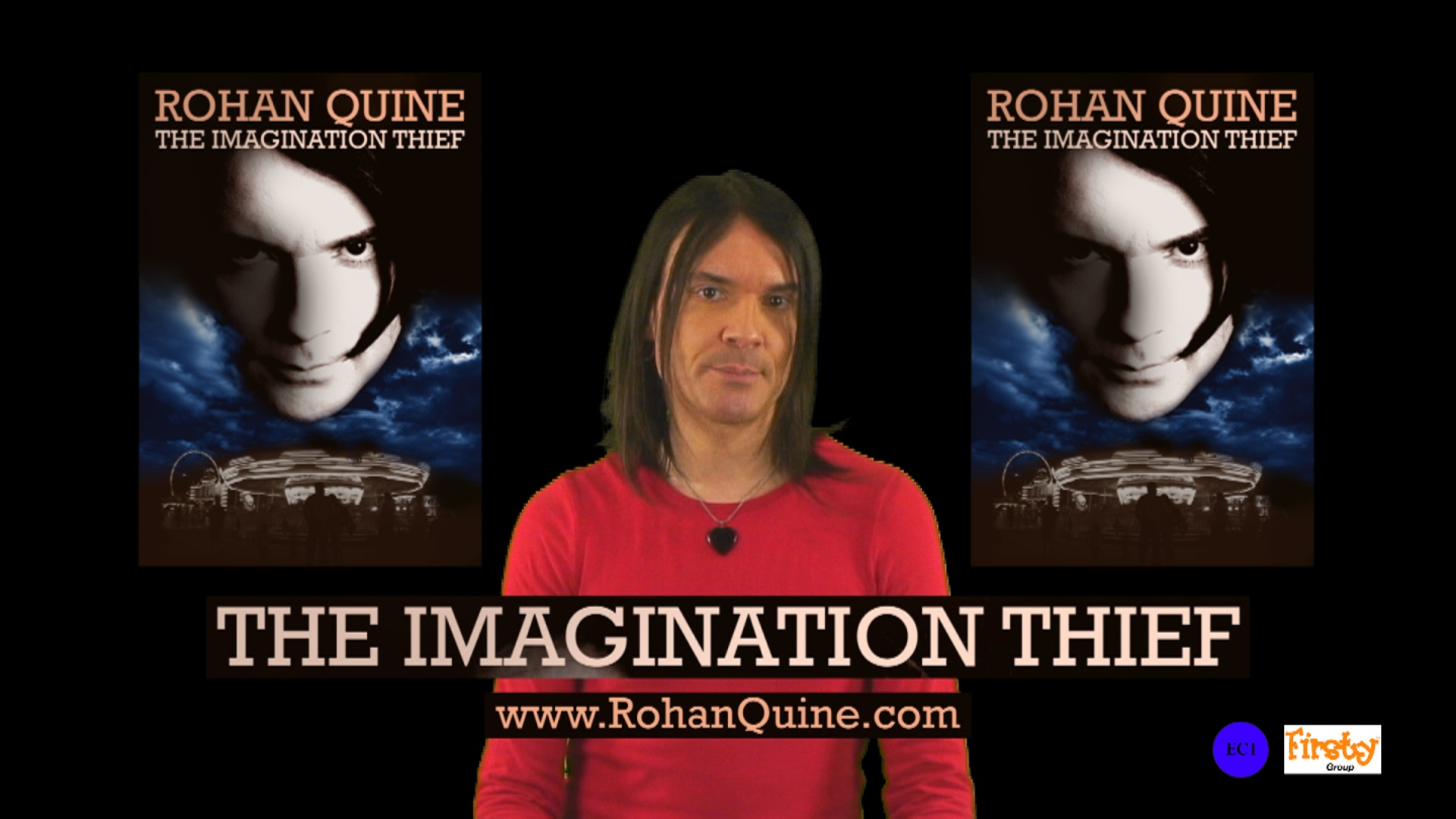 "Rohan Quine - ""Back-cover paragraph of The Imagination Thief"" - still 1 (literary fiction, magical realism, horror)"