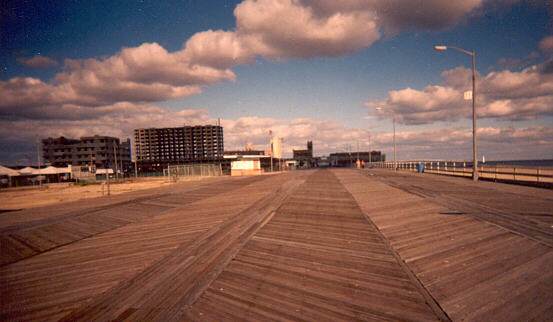 The Boardwalk, Asbury Park, looking north