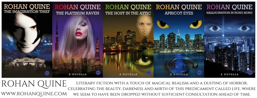Rohan Quine, the Imagination Thief, on Facebook