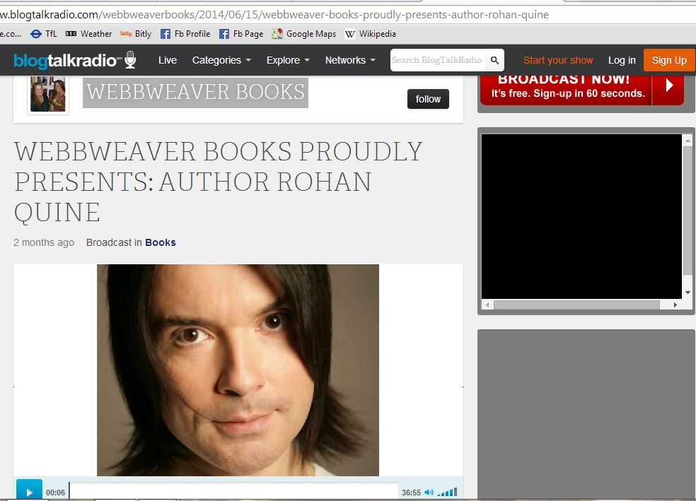 'WebbWeaver Books' interview of Rohan Quine, by CK Webb 3