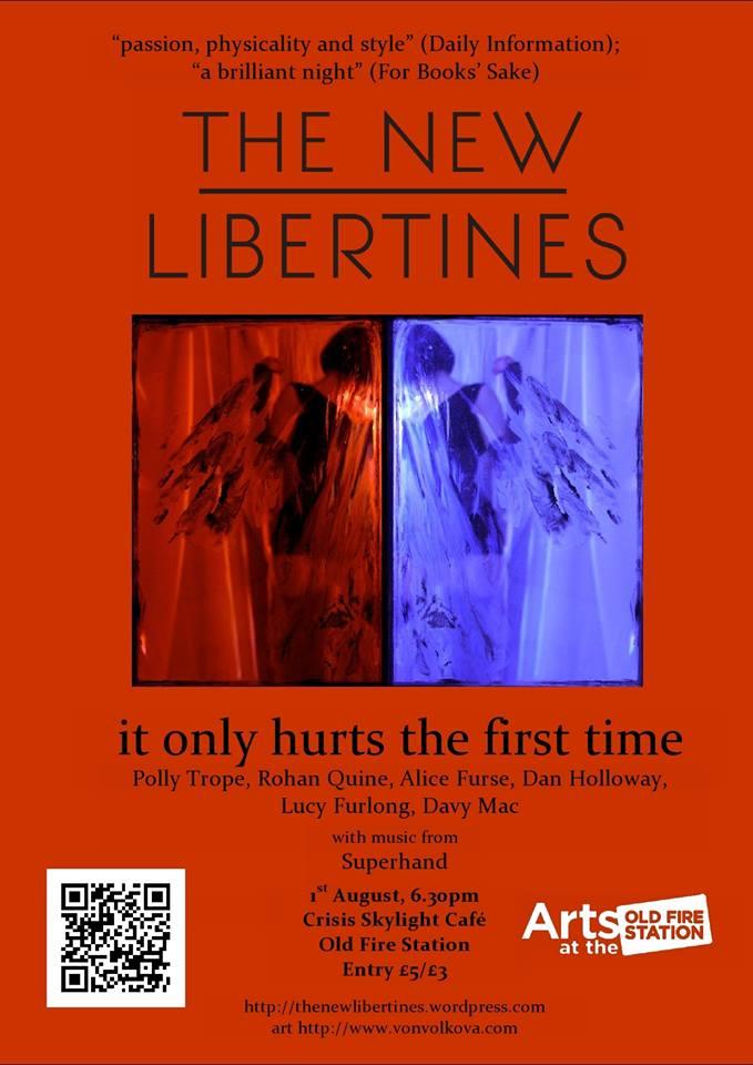 Dan Holloway's 01-08-14 New Libertines show