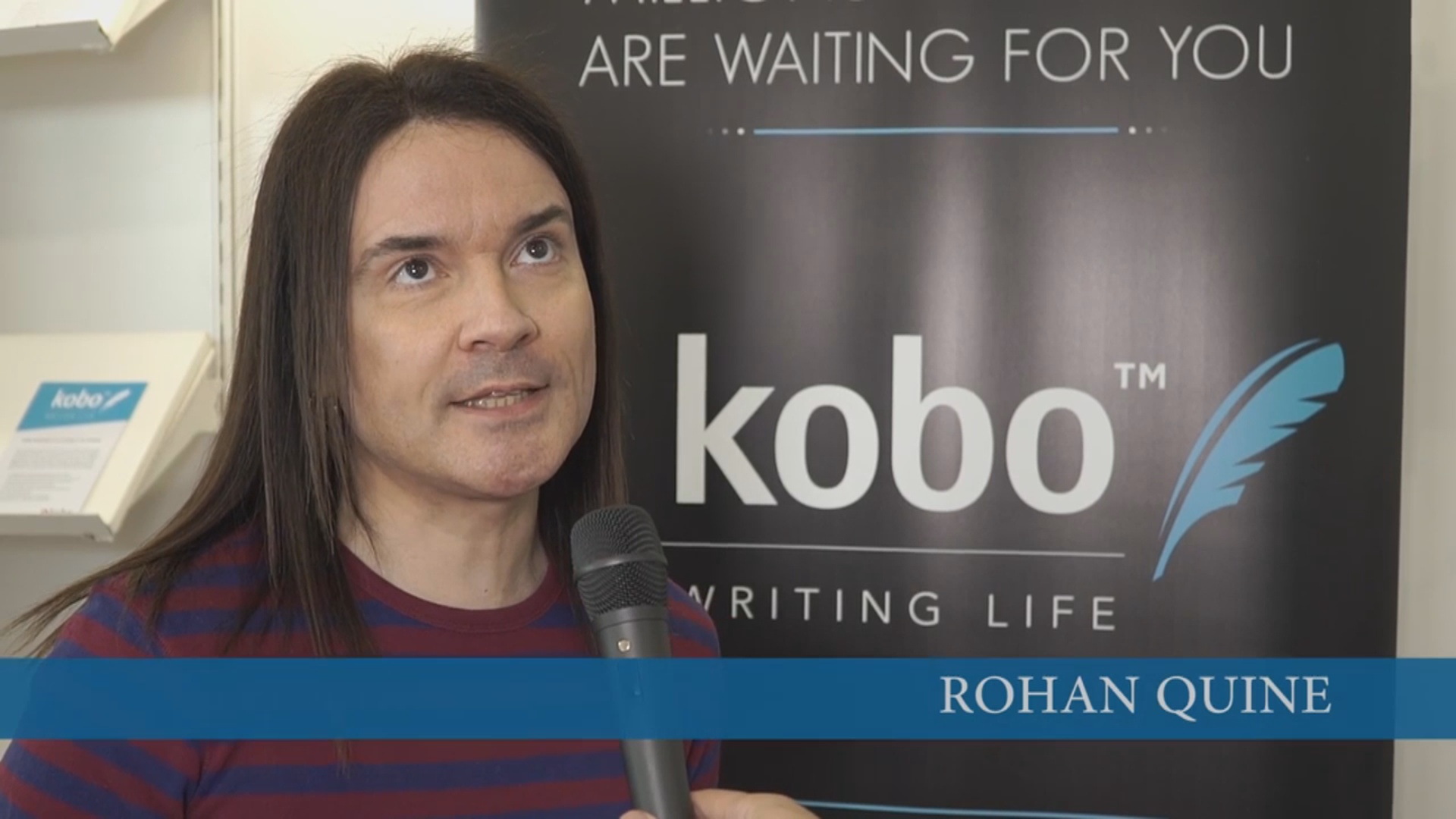 Rohan Quine in Kobo's London Book Fair 2016 interview 3