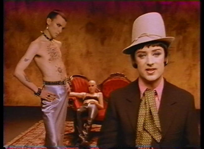 Rohan Quine and Boy George in 'Same Thing in Reverse'