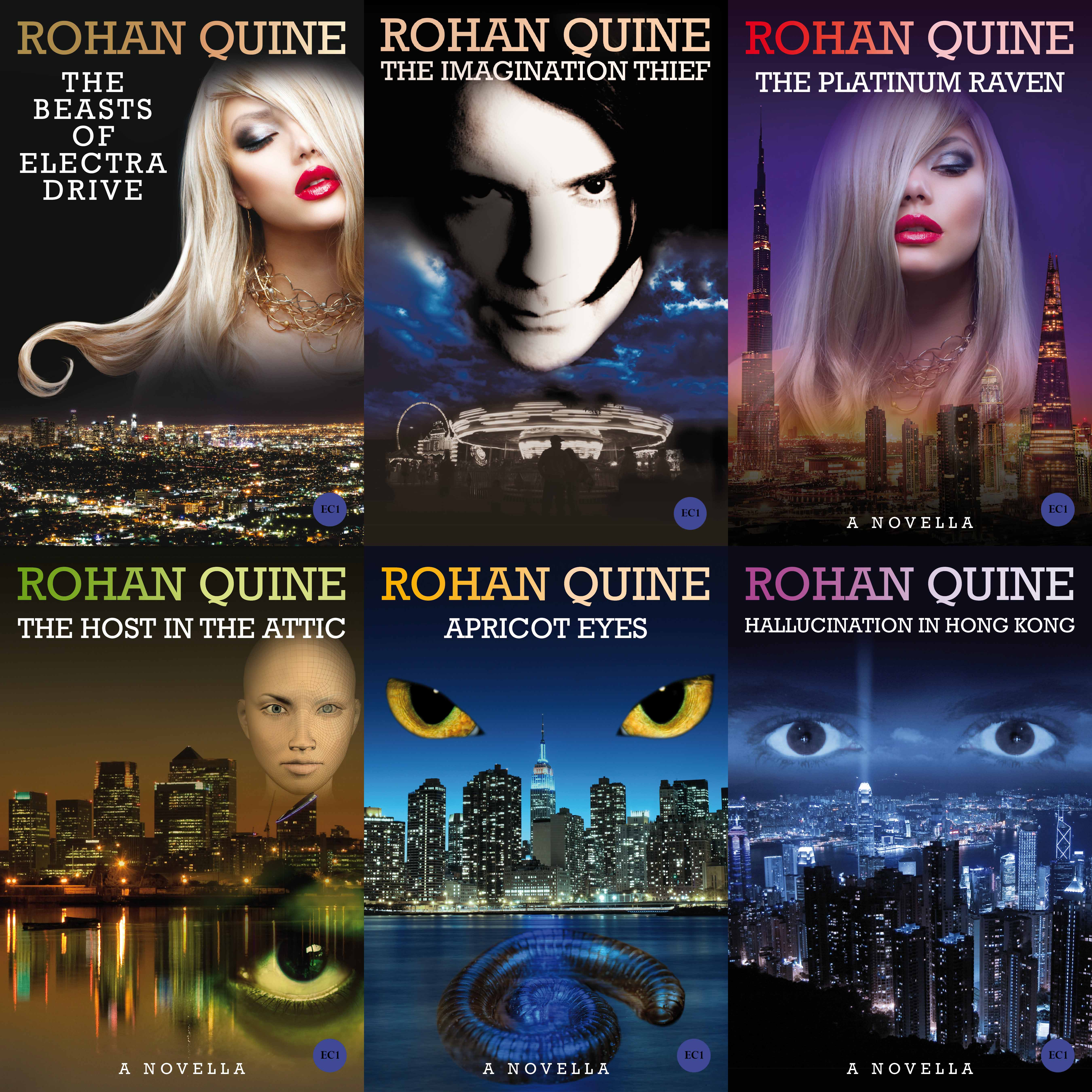 Buy Rohan Quine's books from all retailers