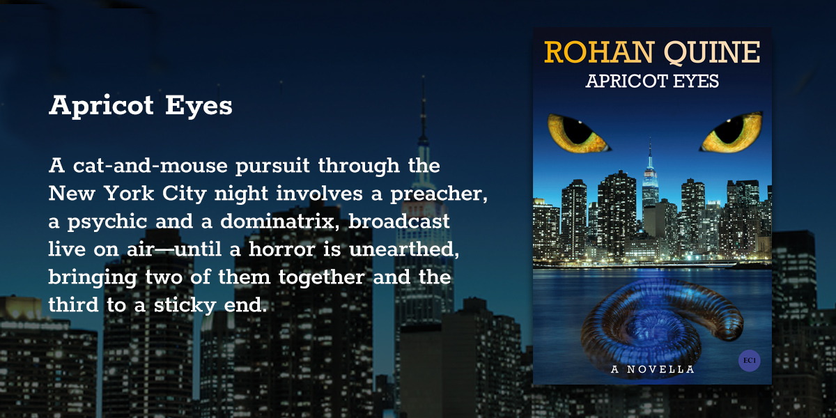 'Apricot Eyes' by Rohan Quine - banner