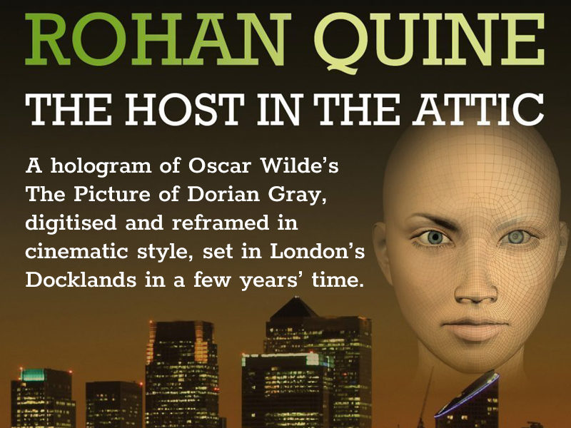 'The Host in the Attic' by Rohan Quine - banner for mobile