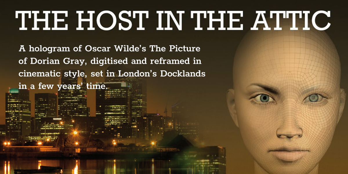 'The Host in the Attic' by Rohan Quine - banner