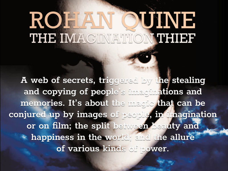 'The Imagination Thief' by Rohan Quine - banner for mobile