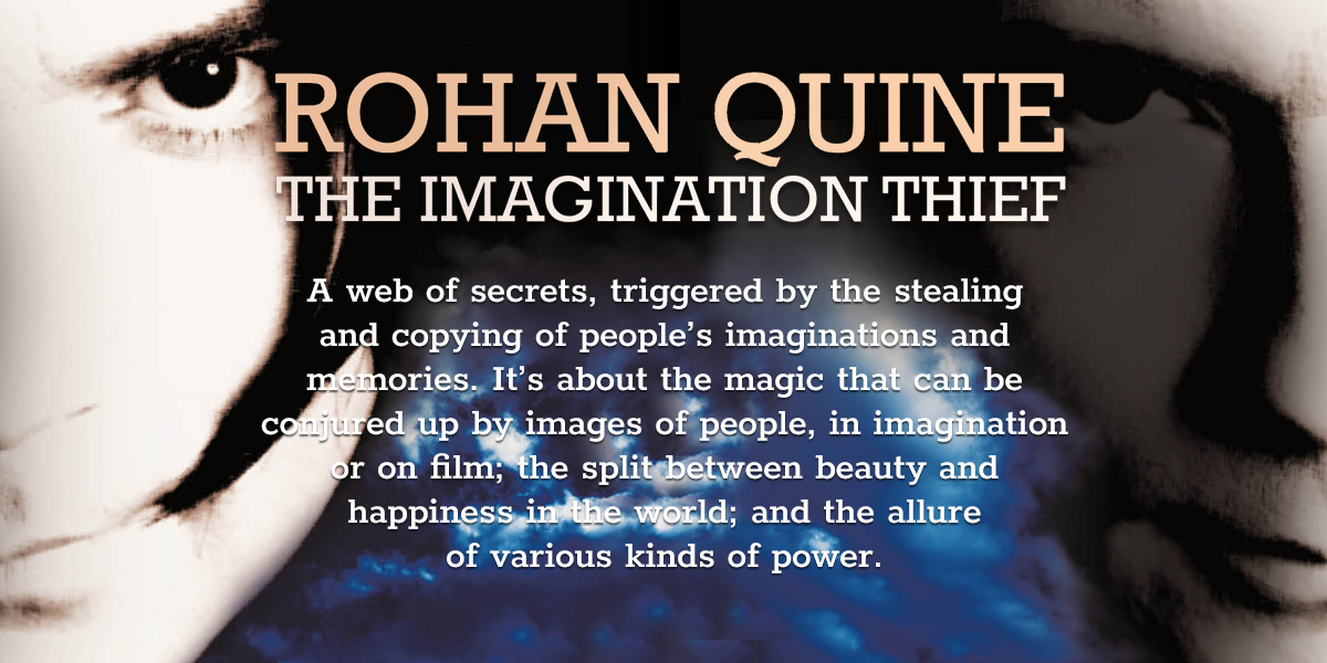 'The Imagination Thief' by Rohan Quine - banner