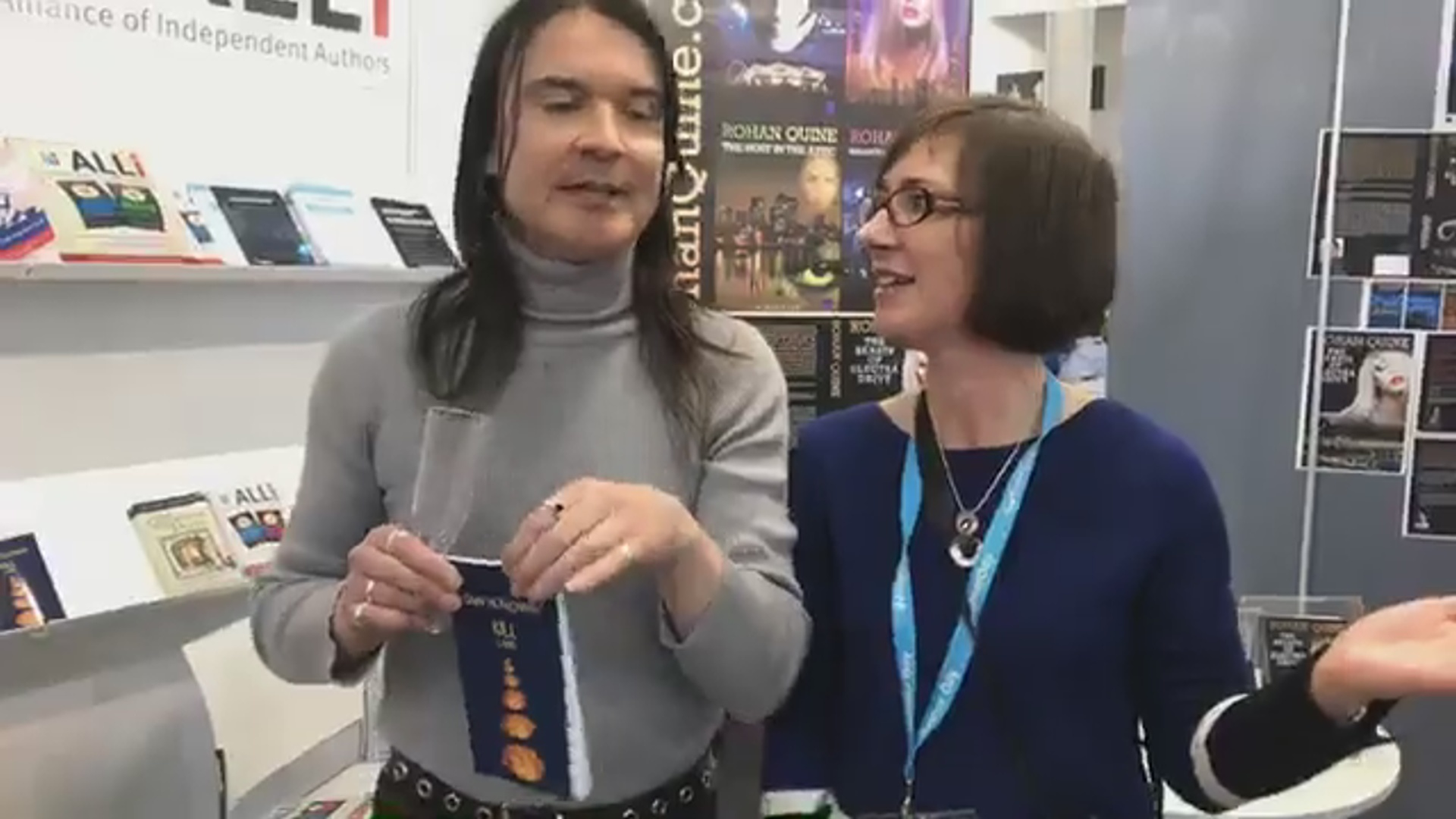 LBF18 launch of Rohan Quine's 'The Beasts of Electra Drive', Dan Holloway's 'Kill Land' & Jane Davis's 'Smash all the Windows' - 19