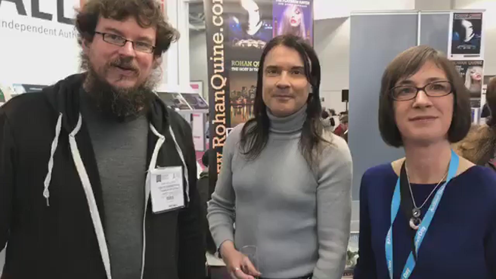LBF18 launch of Rohan Quine's 'The Beasts of Electra Drive', Dan Holloway's 'Kill Land' & Jane Davis's 'Smash all the Windows' - 21