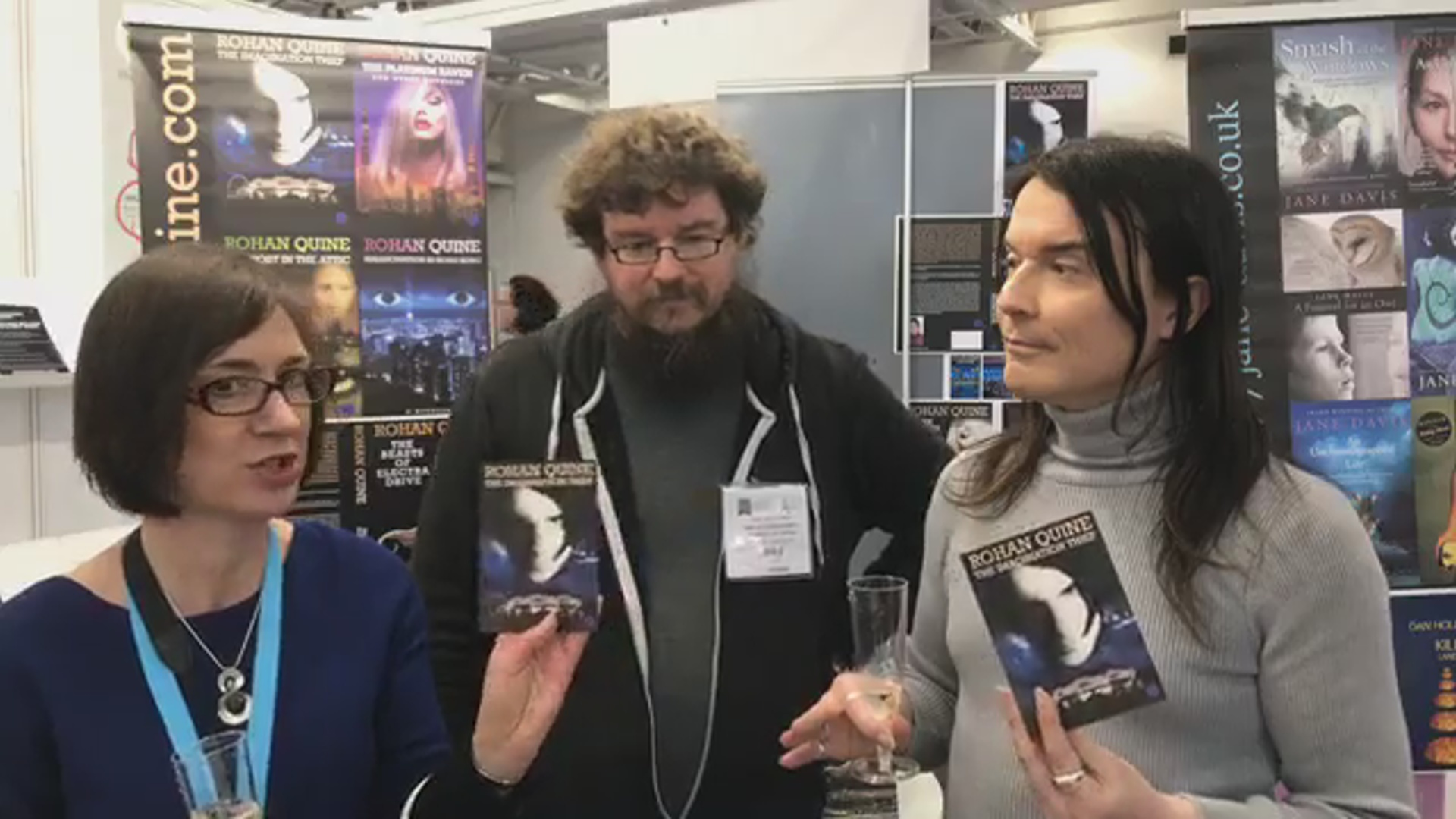 LBF18 launch of Rohan Quine's 'The Beasts of Electra Drive', Dan Holloway's 'Kill Land' & Jane Davis's 'Smash all the Windows' - 5