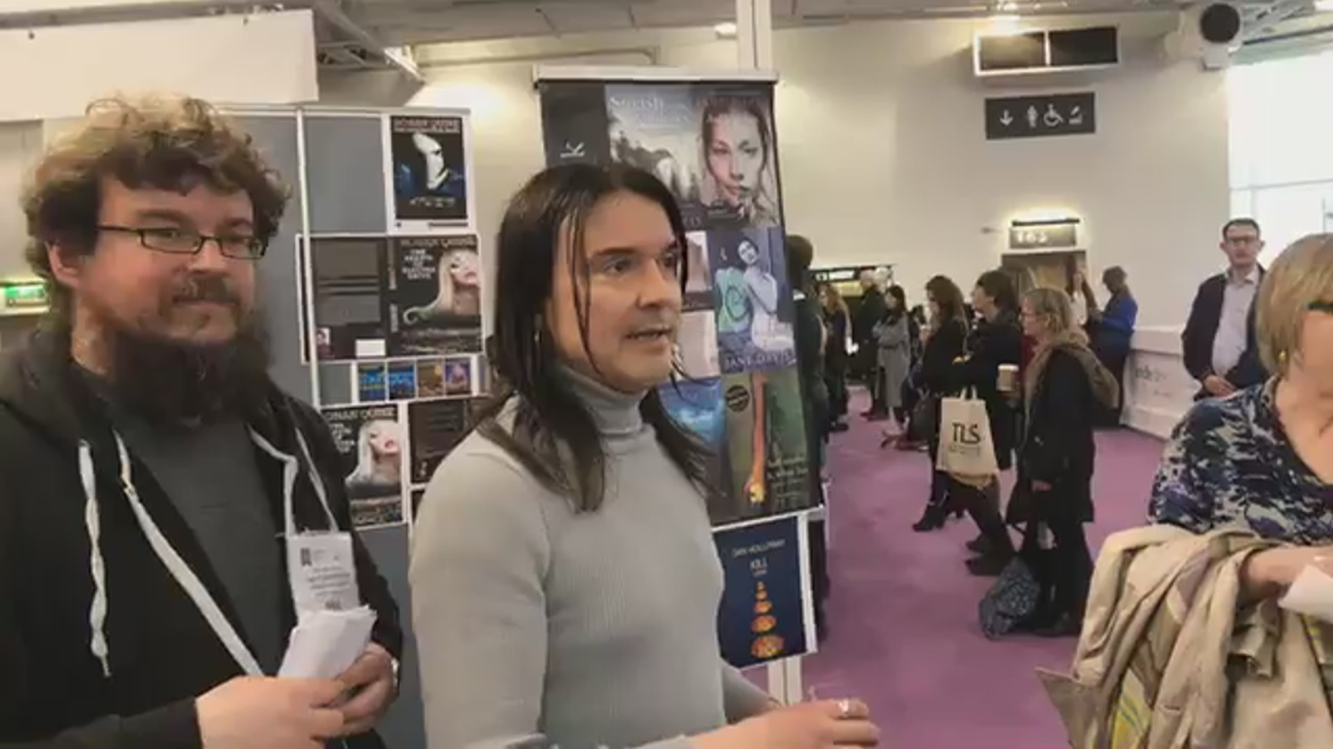 LBF18 launch of Rohan Quine's 'The Beasts of Electra Drive', Dan Holloway's 'Kill Land' & Jane Davis's 'Smash all the Windows' - 7