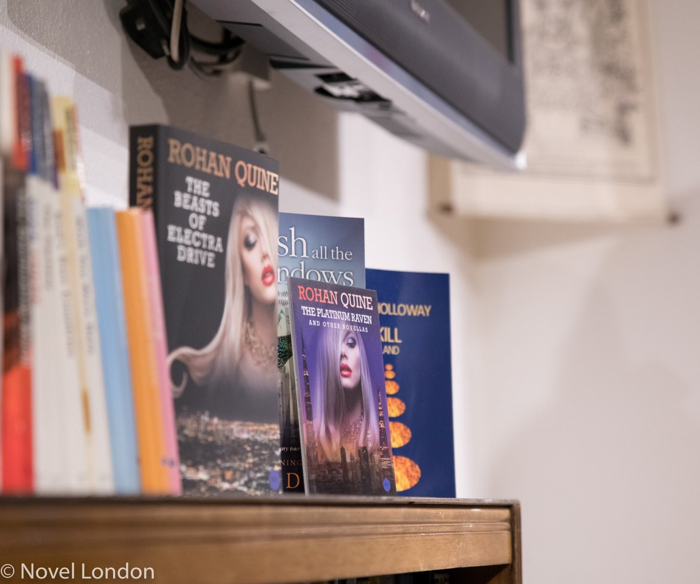 Launch of Rohan Quine's 'The Beasts of Electra Drive' & Dan Holloway's 'Kill Land' - 11 (photo by Novel London)