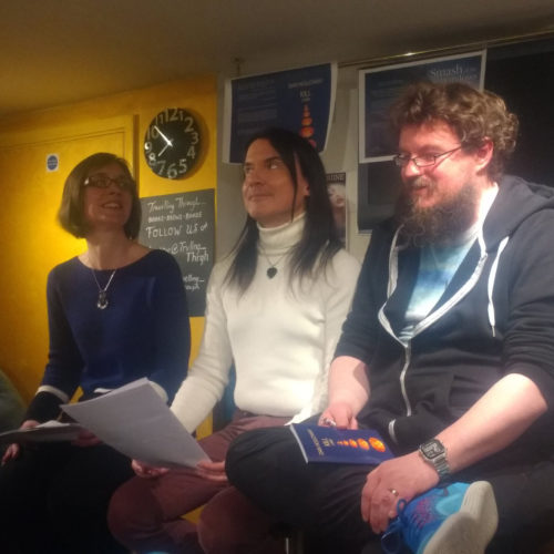 Launch of Rohan Quine's 'The Beasts of Electra Drive' & Dan Holloway's 'Kill Land' - 12 (photo by Catriona Troth)