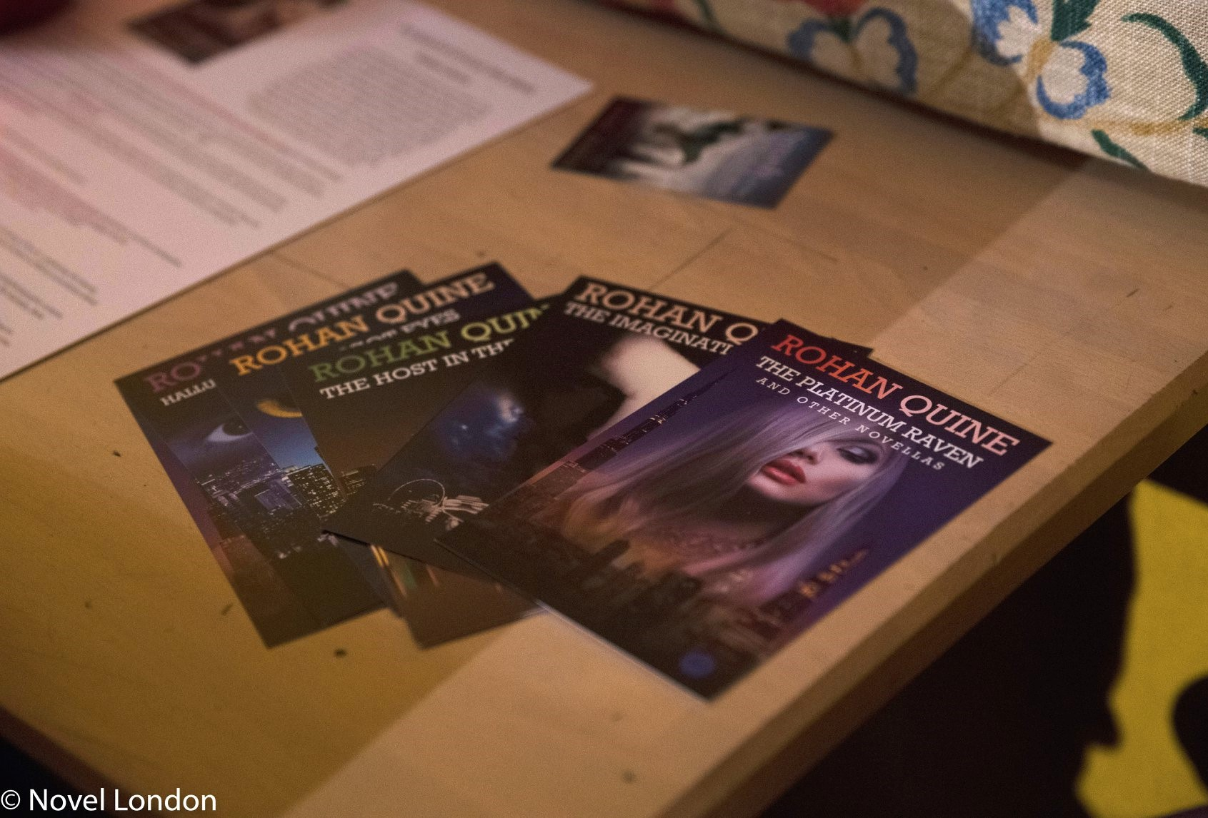 Launch of Rohan Quine's 'The Beasts of Electra Drive' & Dan Holloway's 'Kill Land' - 12 (photo by Novel London)