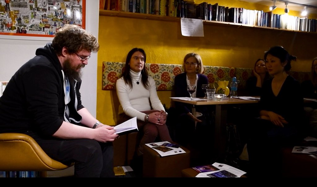 Launch of Rohan Quine's 'The Beasts of Electra Drive' & Dan Holloway's 'Kill Land' - 16 (photo by Novel London)