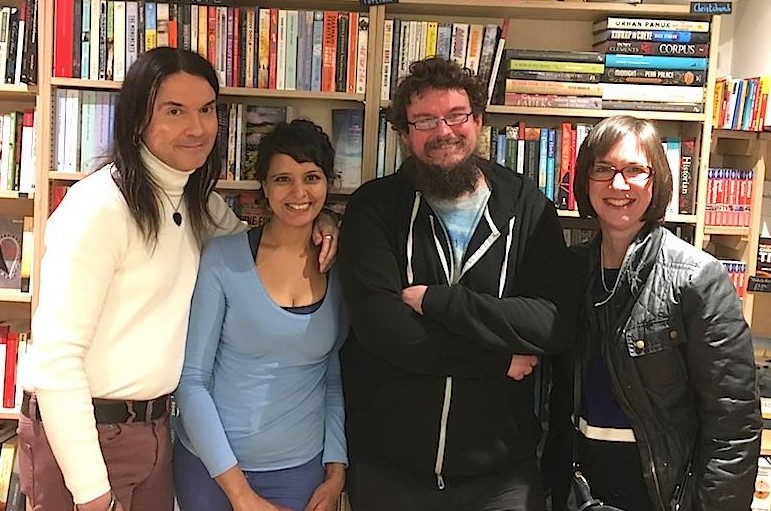 Launch of Rohan Quine's 'The Beasts of Electra Drive' & Dan Holloway's 'Kill Land' - 3 (photo by Novel London)