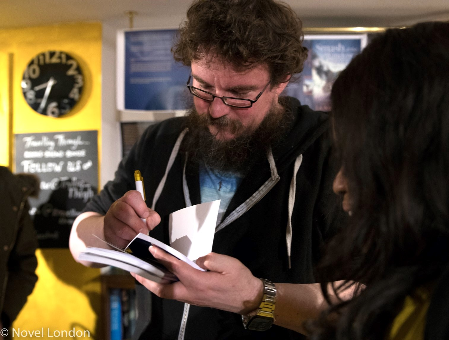Launch of Rohan Quine's 'The Beasts of Electra Drive' & Dan Holloway's 'Kill Land' - 8 (photo by Novel London)