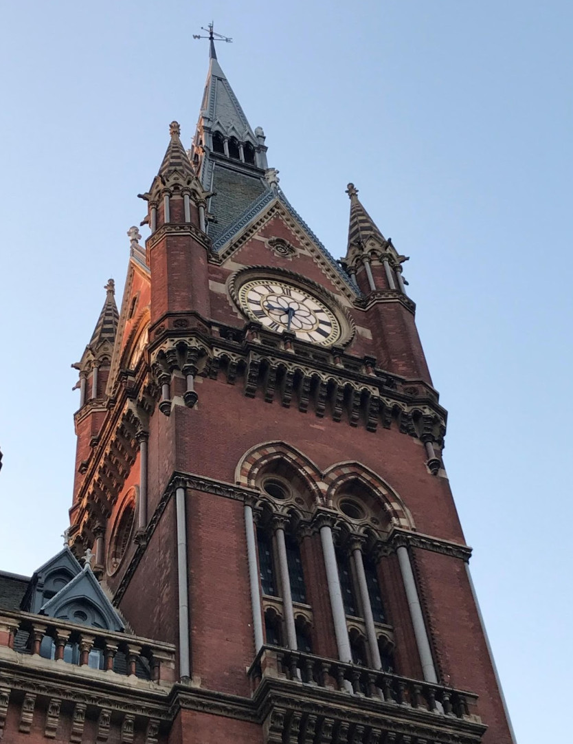Saint Pancras Clock Tower, London
