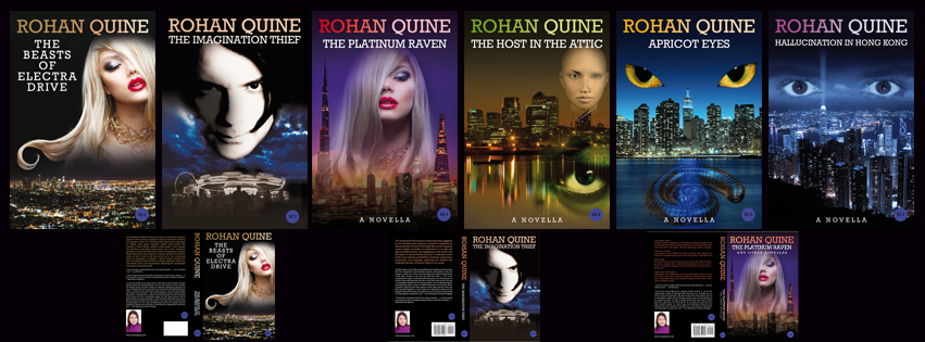 Rohan Quine - Literary Fiction with a touch of Magical Realism and a dusting of Horror