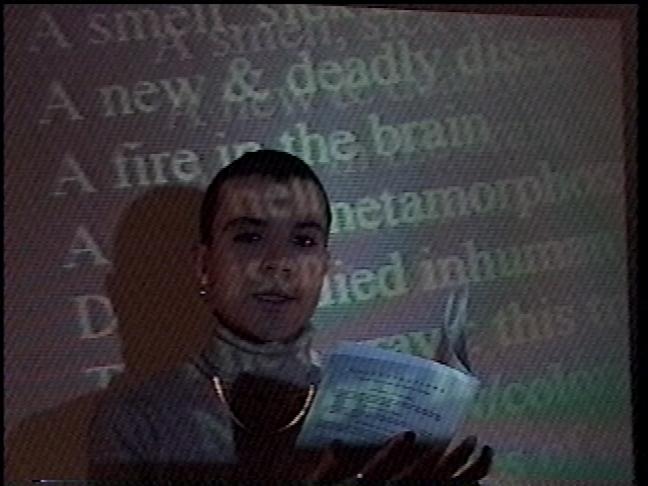 Rohan Quine in 'Performances 3' 2