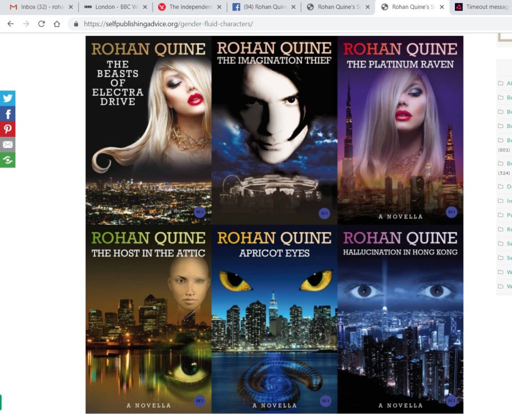Rohan Quine on Howard Lovy's 'Inspirational Indie Authors' podcast - 3