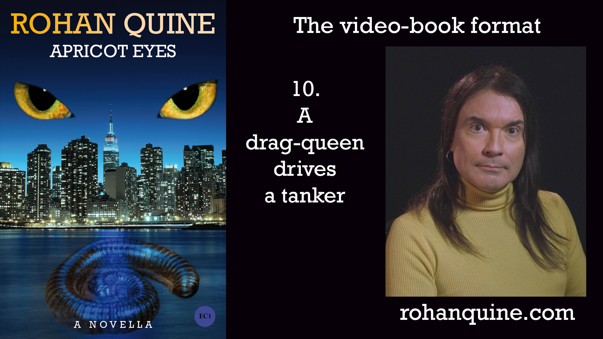 APRICOT EYES by Rohan Quine - video-book format - chapter 10