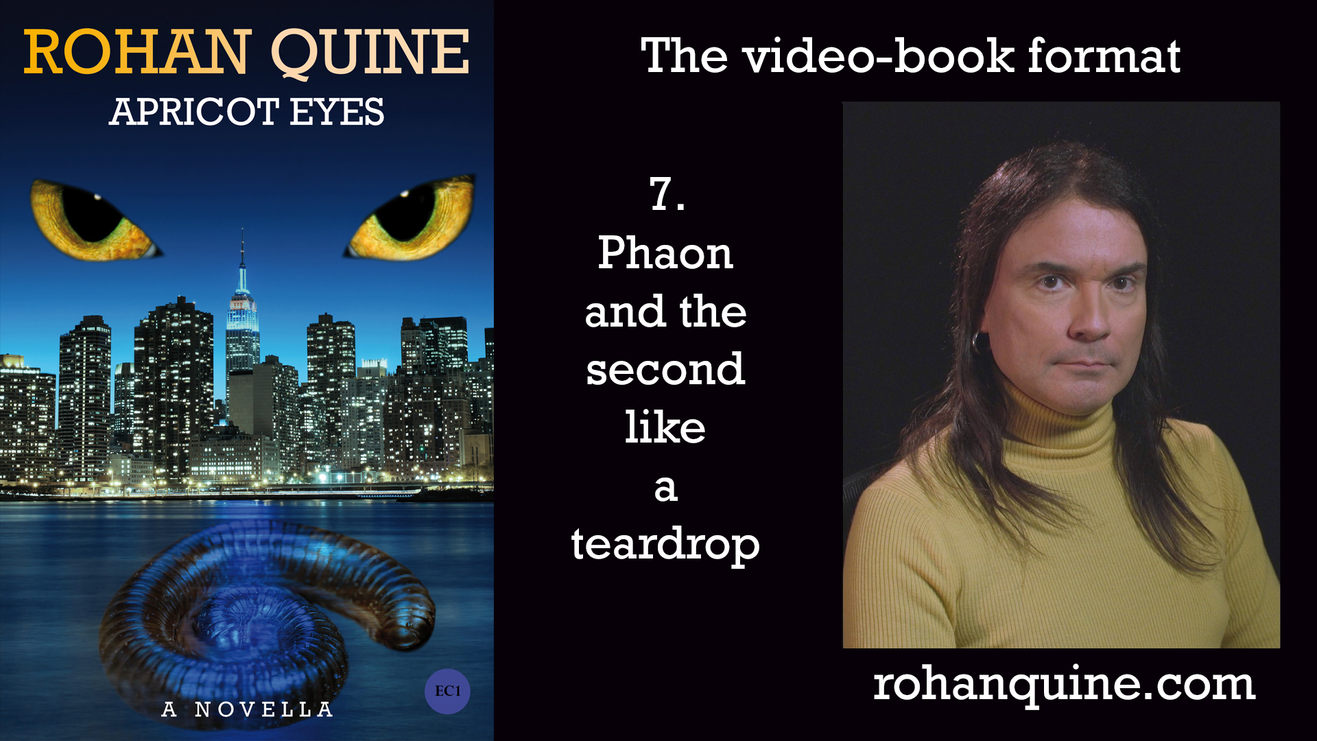 APRICOT EYES by Rohan Quine - video-book format - chapter 7