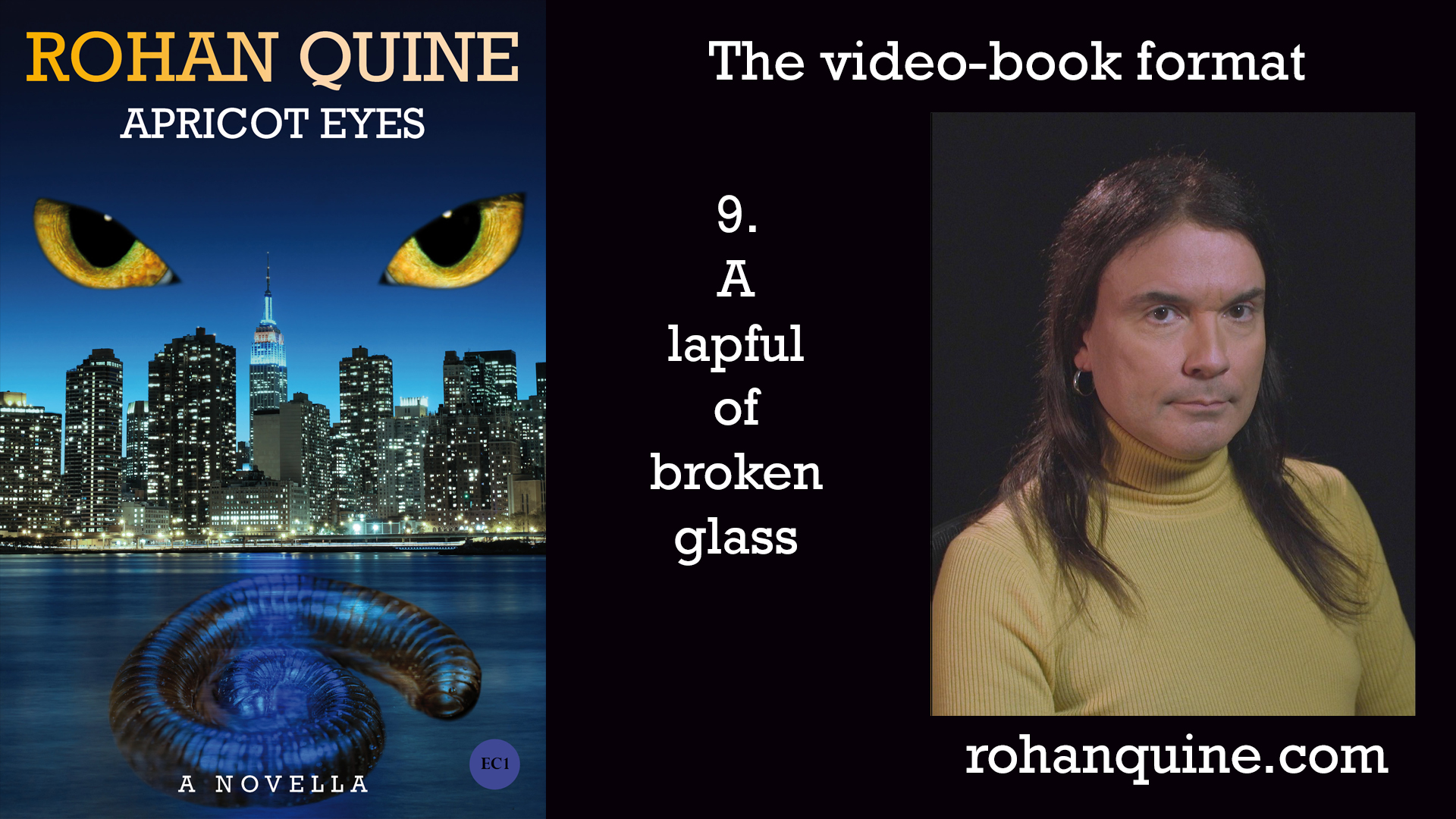 APRICOT EYES by Rohan Quine - video-book format - chapter 9