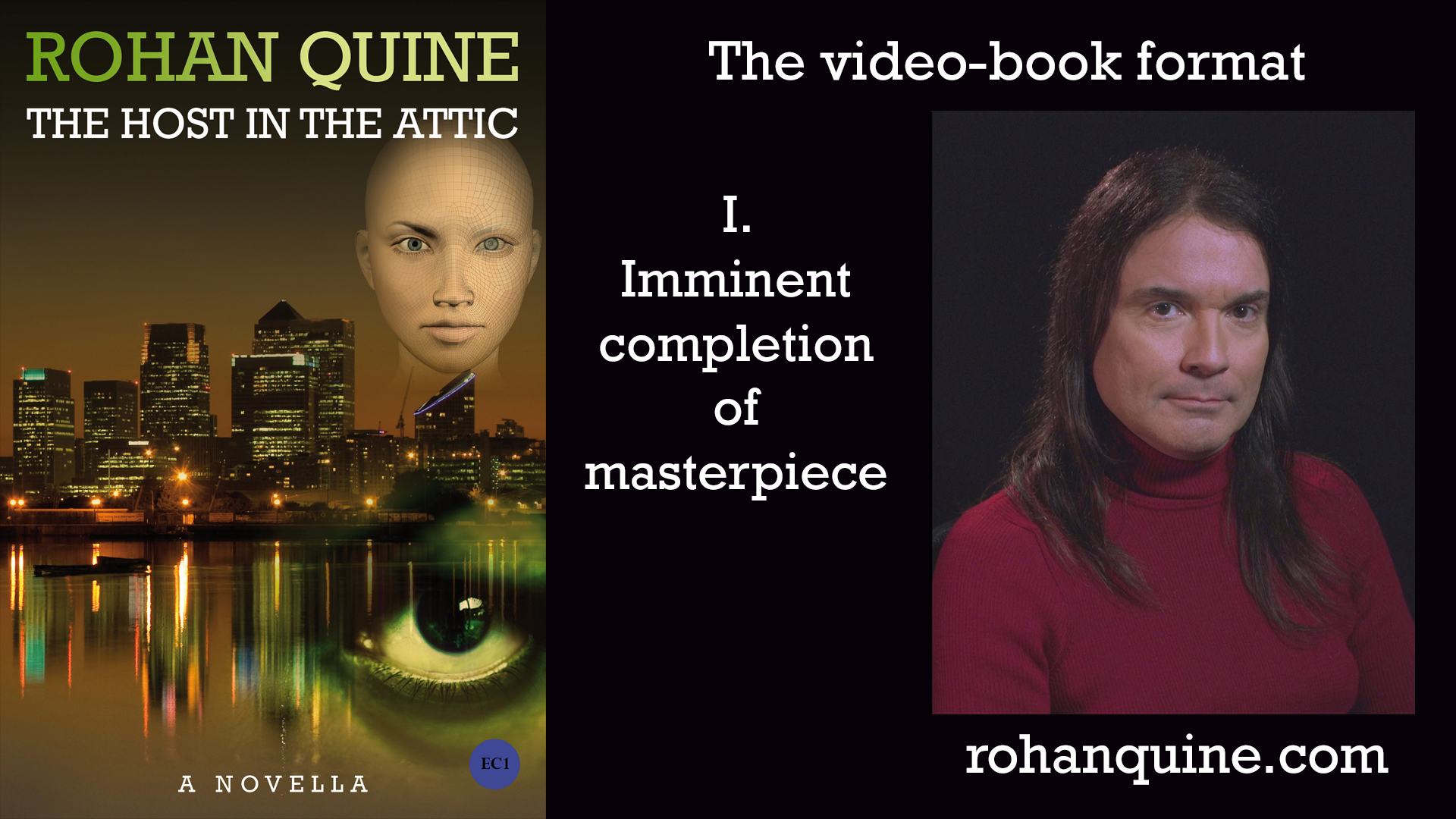 THE HOST IN THE ATTIC by Rohan Quine - video-book format - chapter I