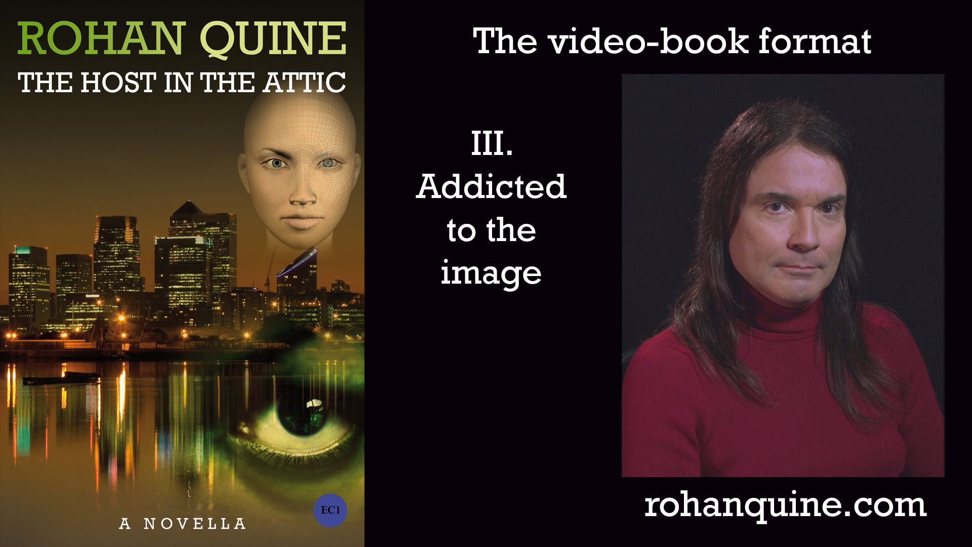 THE HOST IN THE ATTIC by Rohan Quine - video-book format - chapter III