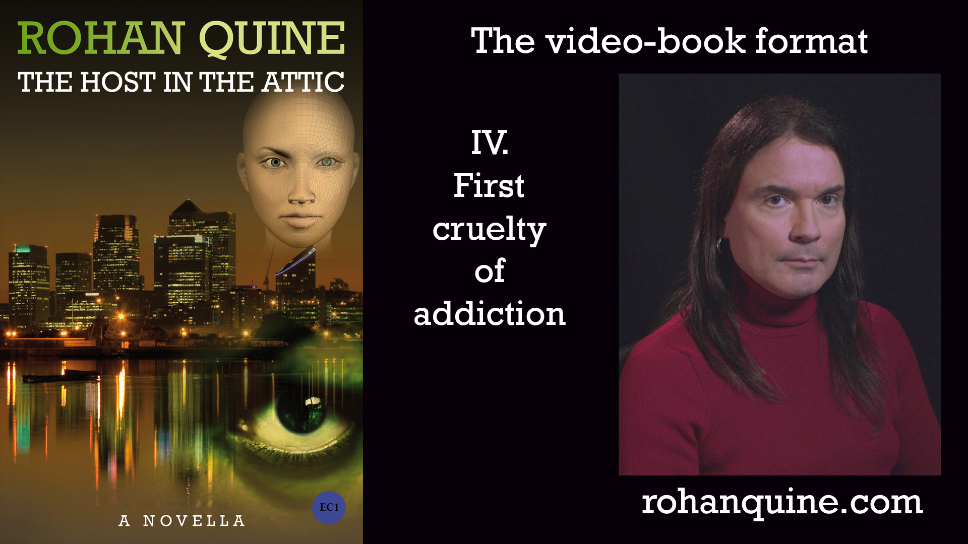 THE HOST IN THE ATTIC by Rohan Quine - video-book format - chapter IV
