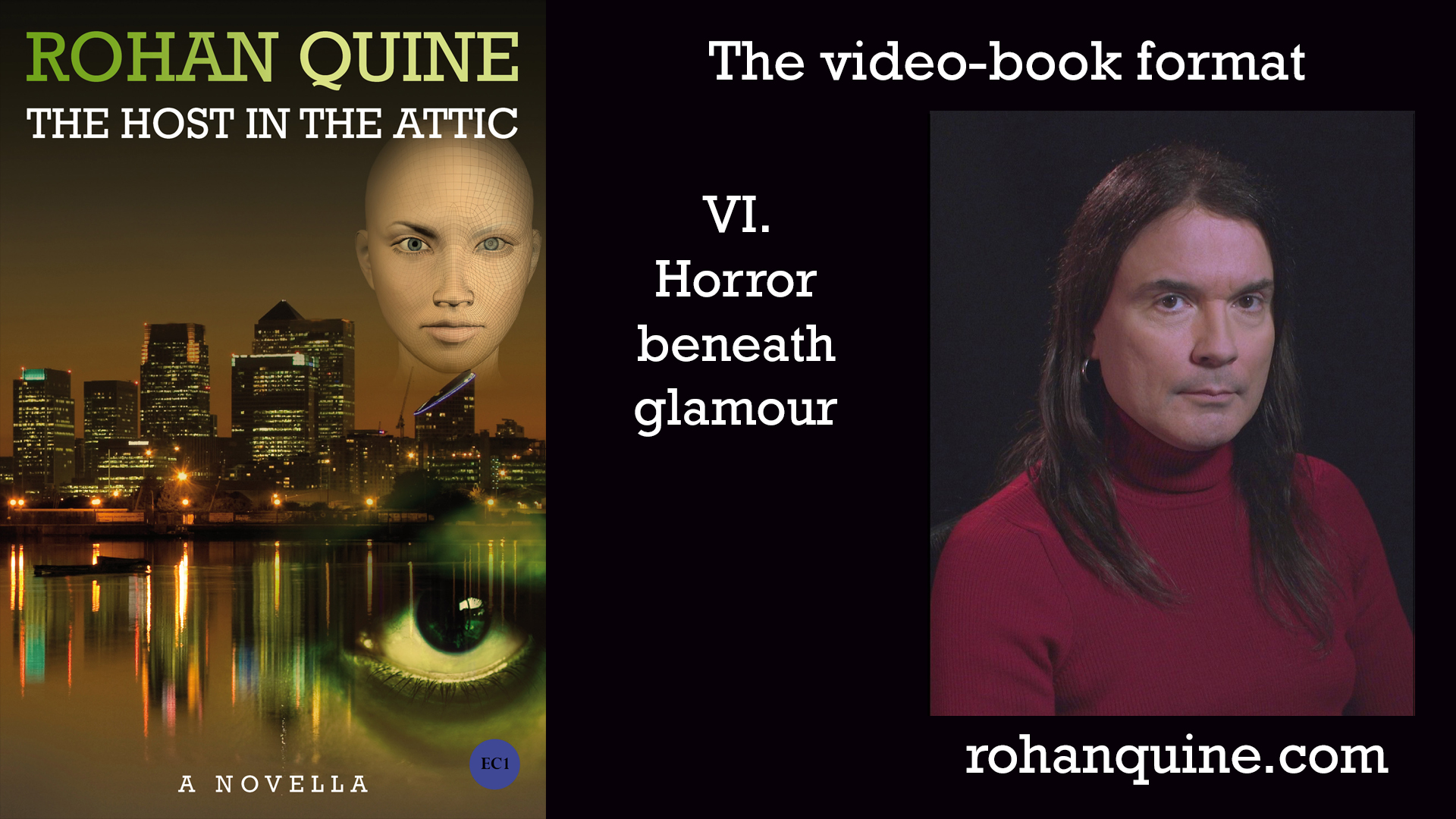THE HOST IN THE ATTIC by Rohan Quine - video-book format - chapter VI