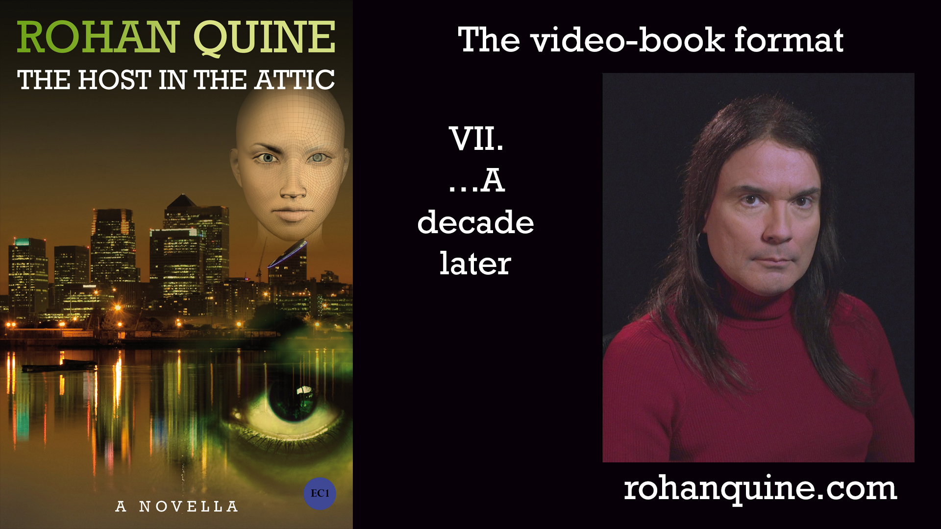 THE HOST IN THE ATTIC by Rohan Quine - video-book format - chapter VII