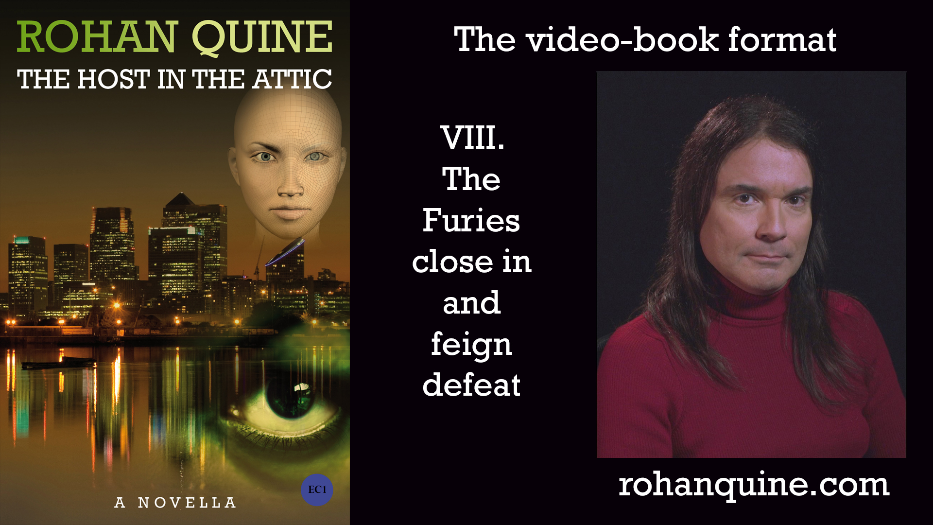 THE HOST IN THE ATTIC by Rohan Quine - video-book format - chapter VIII