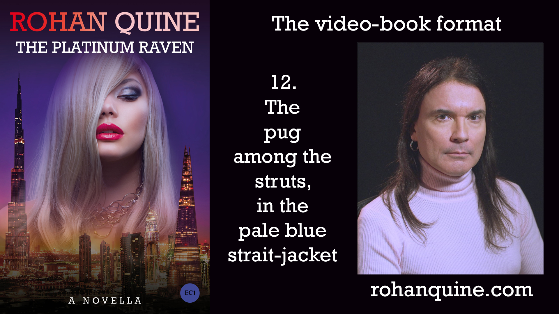 THE PLATINUM RAVEN by Rohan Quine - video-book format - chapter 12