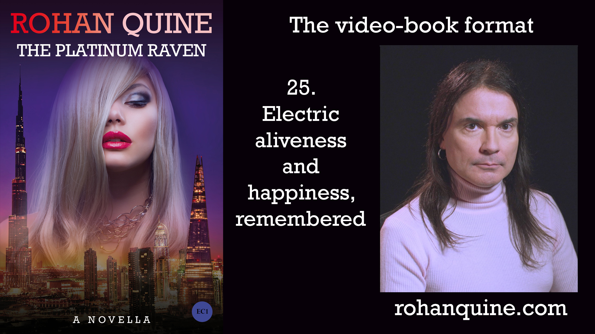 THE PLATINUM RAVEN by Rohan Quine - video-book format - chapter 25